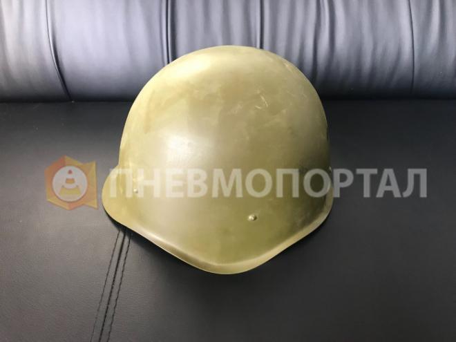 Пескоструйная обработка военной каски