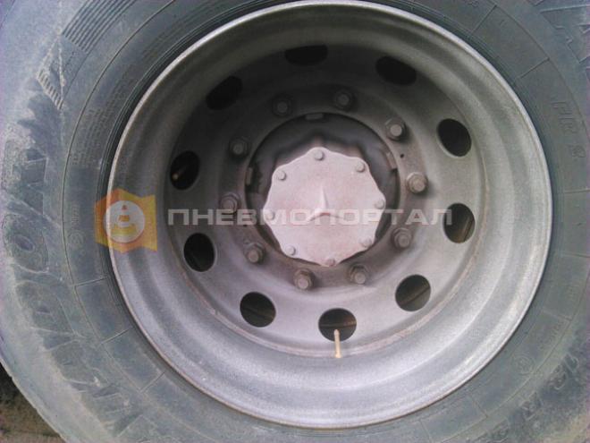 Обработали колесные диски