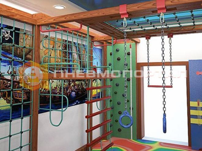 Покрасили игровую комнату