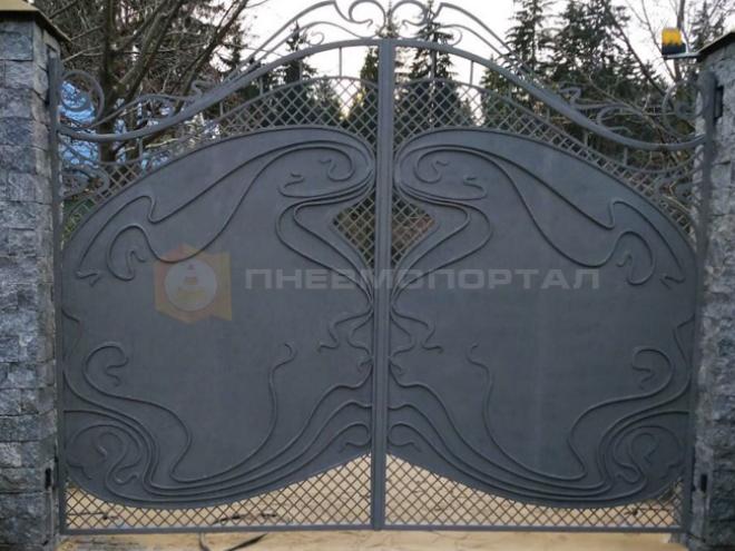 Пескоструйная обработка ворот с выездом в Наро-Фоминский район