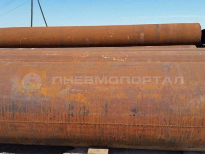 Произвели пескоструйную очистку труб в г. Воскресенск