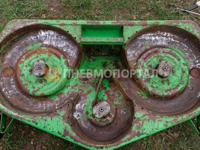 Пескоструйная обработка и порошковая покраска детали защиты газонокосилки