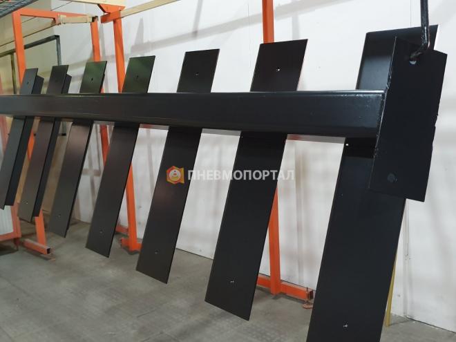 Порошковая покраска металлической лестницы