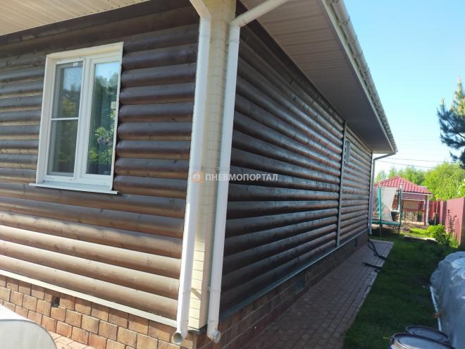 Пескоструйная очистка дома от краски Серпуховской район