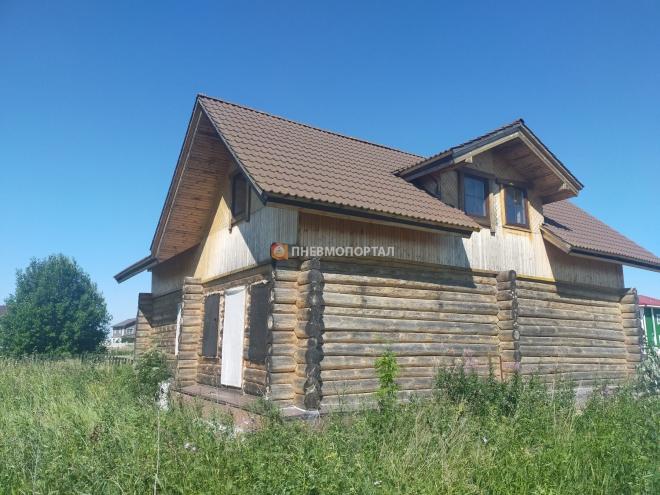 Пескоструйная обработка дома в Суздале